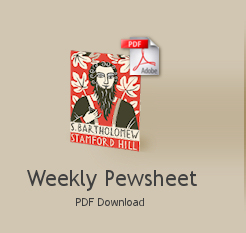 weekly pewsheet - pdf download